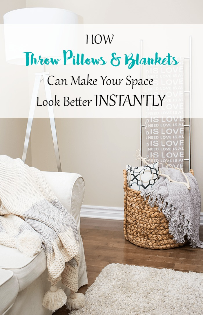 Decorating 101 How Throw Pillows And Blankets Can Make Your Space Look Better Instantly A Pretty Fix