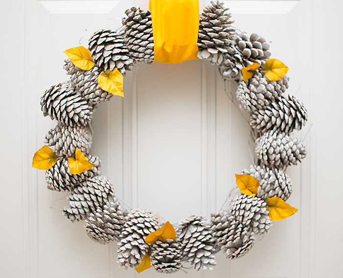 Pinecone decor ideas | Wreath | DIY