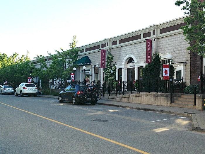 Downtown Jordan, Ontario.
