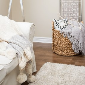 throw pillows and blankets - decorating your home - featured image