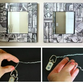 featured image - how to rewire a mirror, print or artwork