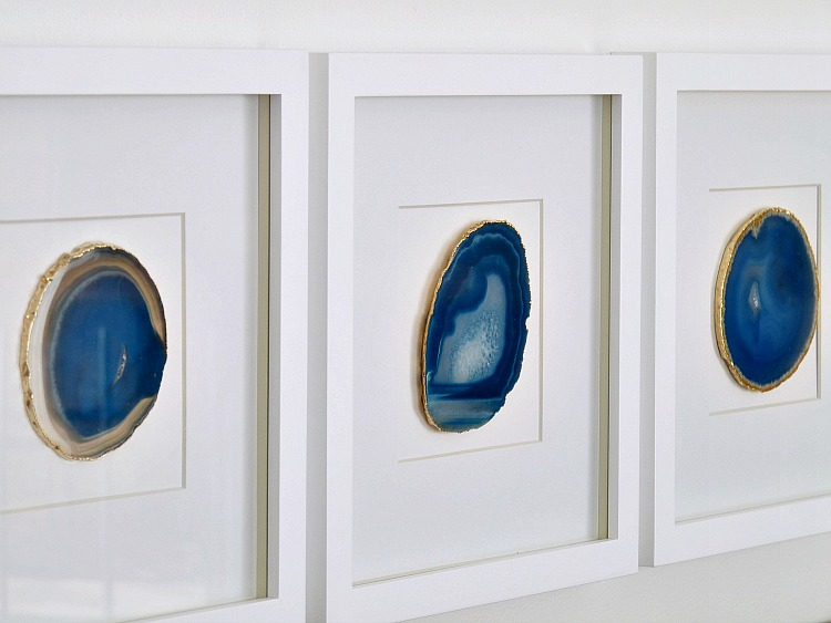 framed agate art