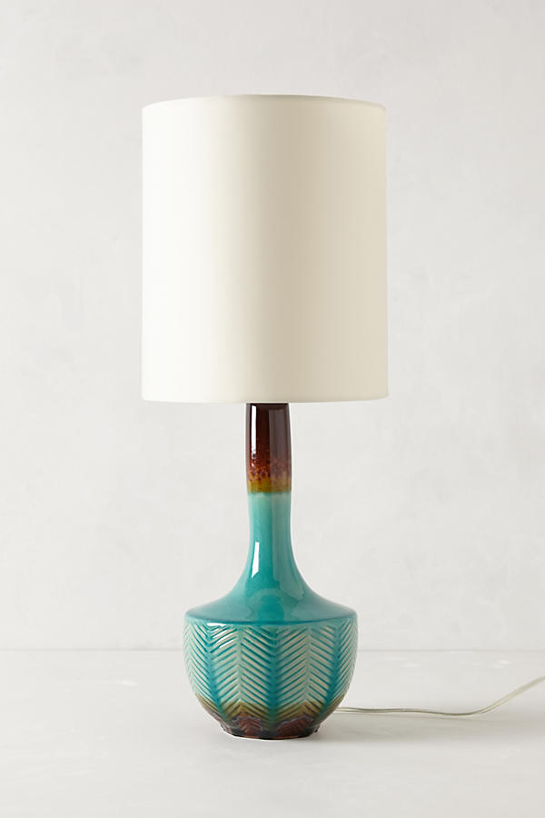 Dream Living Room - Fern Fossil Lamp // www.anthropologie.com
