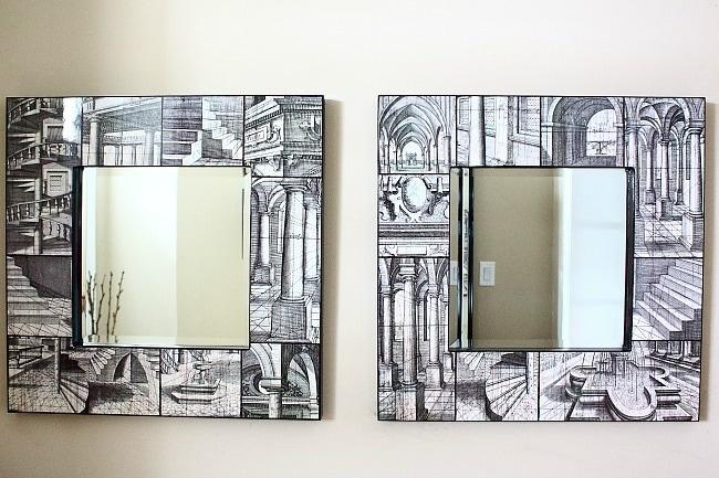 aligned mirrors