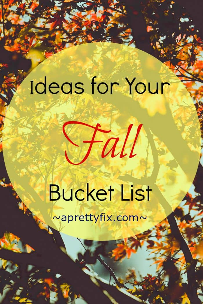 Fall is a great time to learn a new skill, try a new craft, and discover great seasonal recipes. Looking for some inspiration to kickstart your Fall Bucket List? Here you'll find ideas and resources that will inspire you this season.