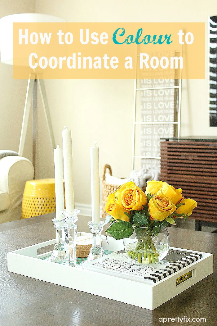 For a room that feels disconnected, uncoordinated, or just plain bland and boring, using colour is an easy way to add style, personality and cohesion. Check out this post for easy tips and suggestions.