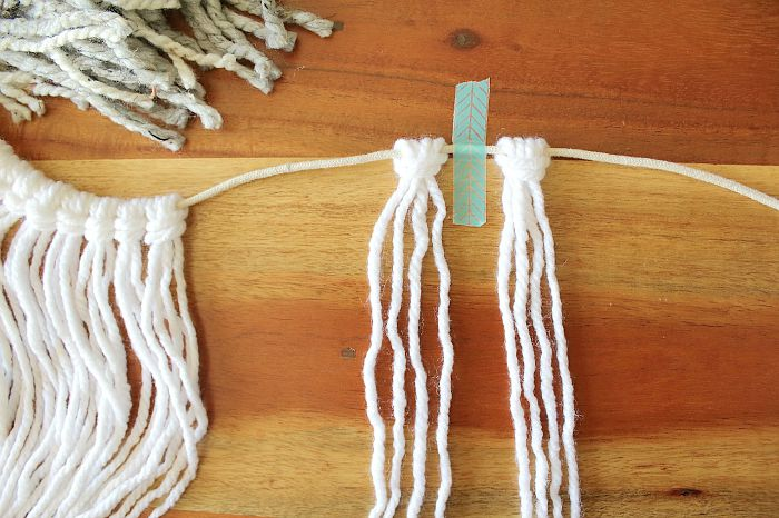 tape cord - ombre garland
