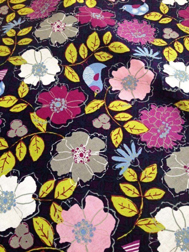 Fabric for girl's room