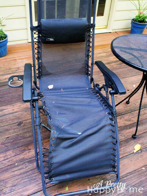 bungee cord chair repair