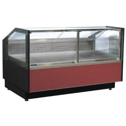 Холодильная витрина кубическая GRACIA D FG (Грация) для хранения суточной нормы продуктов. Фронтальное стекло не открывается.