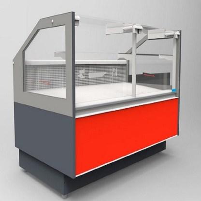 Холодильная витрина кубическая GRACIA D FG 2.5 (Грация) для хранения суточной нормы продуктов. Фронтальное стекло не открывается.