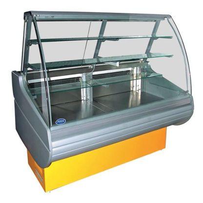 Кондитерская витрина Belluno-K 1.1-1.2. Электронный пульт управления, автоматическое размораживание испарителя. Сделать заказ с гарантией на apricot. kiev.ua.