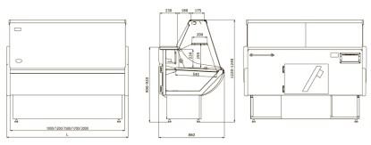 Гастрономическая витрина Россинка 2,0 для хранения продуктов. Сделать заказ на ubc.apricot.