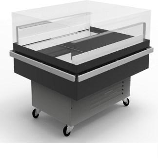 Холодильна вітрина гастрономічна Diana Cube 1.3 для зберігання добової норми продуктів. Тел. (050) 304-42-37, (067) 925-51-86.