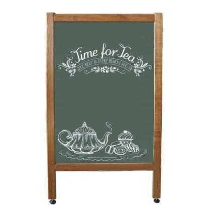 Штендер рекламний для крейди (зелений). Купити по супер ціні на apricot.