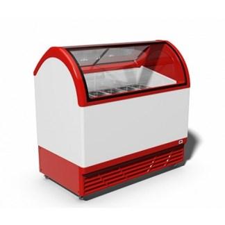 Вітрина для морозива JUKA M400Q зручна в експлуатації, проста в догляді і сервісному обслуговуванні. ✌ Ціна на ☛ apricot.