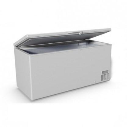 Морозильна скриня JUKA M800Z є морозильною камерою великого розміру із загальним обсягом 786 літрів і глухою кришкою. Гарантія на товар.