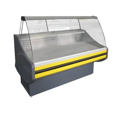 ⚑ Універсальна холодильна вітрина Savona-П-2,4 ВС для зберігання і демонстрації продуктів харчування. Лампа підсвічування експозиції. ☎ (044) 501-11-39.