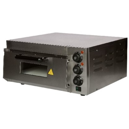 Електрична подова піч GASTRORAG EP-1ST призначена для приготування однієї піци або коржі діаметром 38 сантиметрів. Зробити замовлення на apricot.