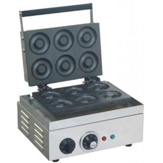 Апарат для пончиків GASTRORAG HDM-6, настільний, чавунні прес-форми з 6 осередками для пончиків, робоча температура 50-300оС, матеріал корпусу - нерж.сталь. Купити по супер ціні на apricot.