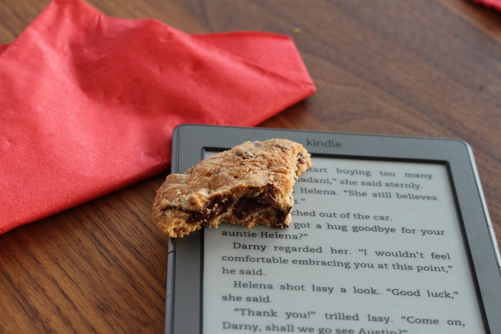 Book and Cookie