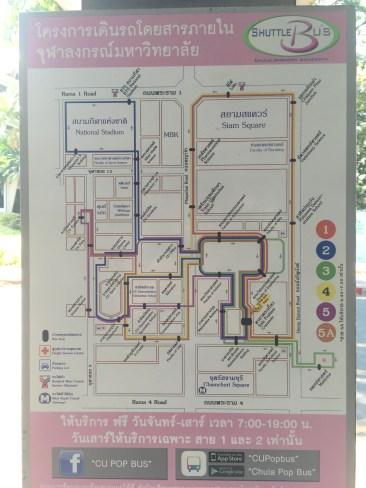 Shuttle Bus Map
