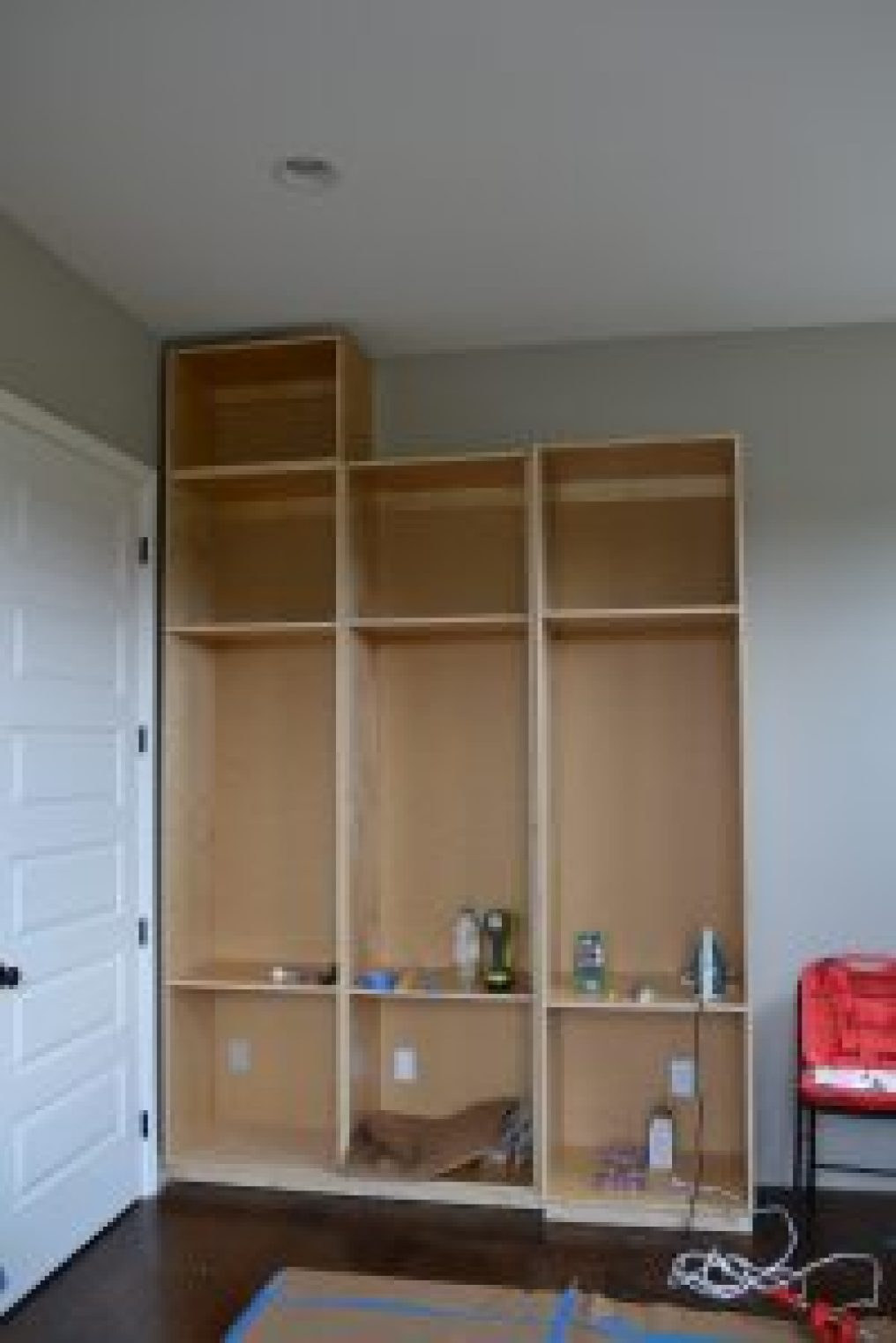 easy way to build cabinets