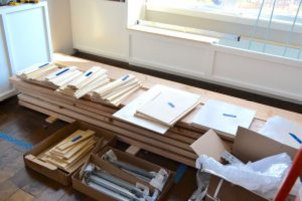 How to build drawer fronts