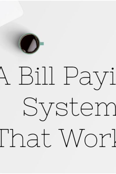 the best bill paying system