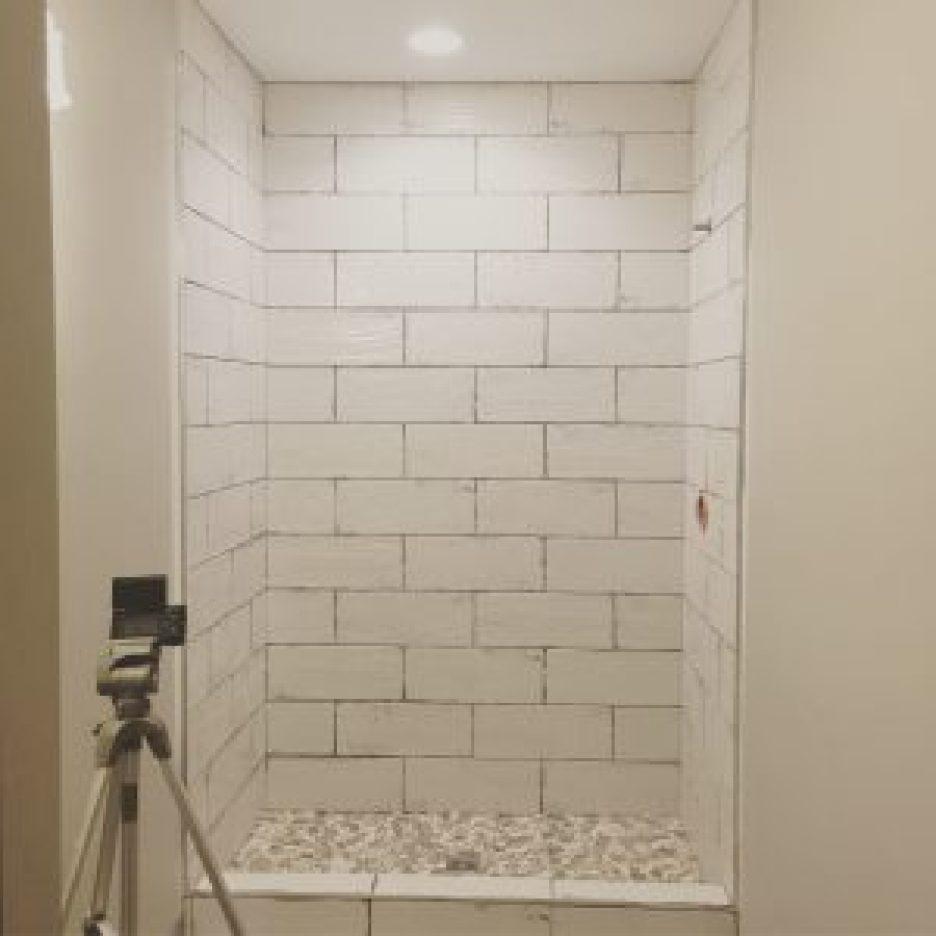 diy bathroom tile