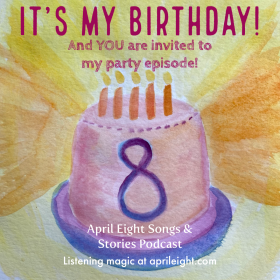 It's My birthday and you are invited to my party! At AprilEight.com
