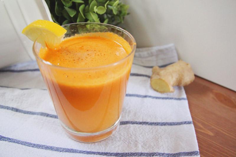 Carrot, Apple, Lemon & Ginger Recipe