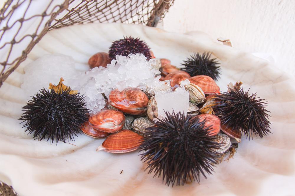 Fresh Fish in Mykonos Town, Greece