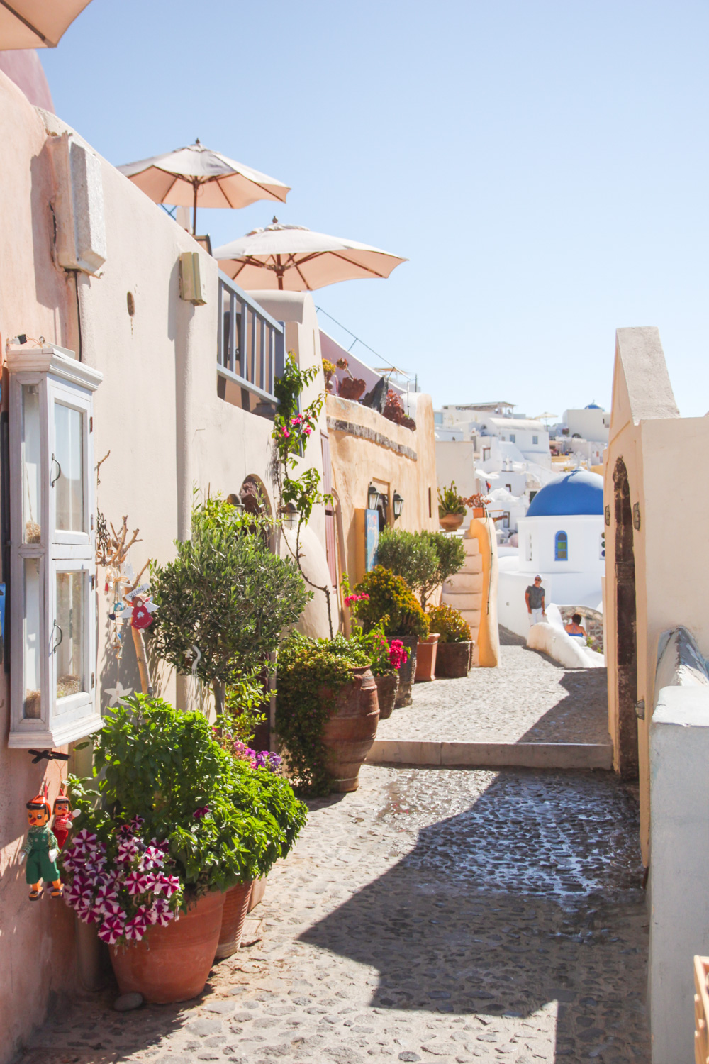The Streets of Oia, Santorini