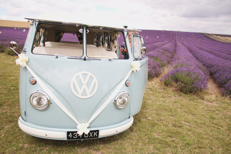 Hitchin Lavender Farm Wedding