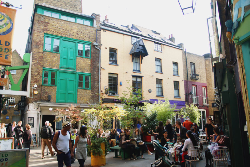 Neals Yard, Covent Garden, London