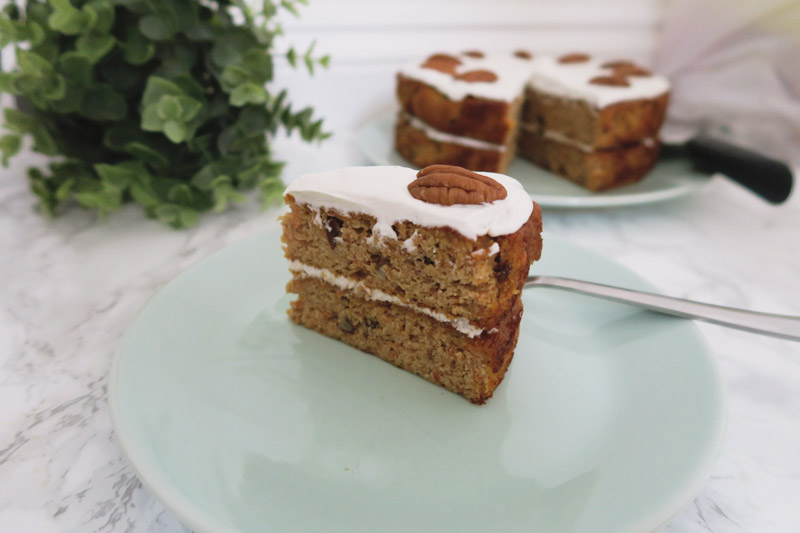 Gluten, Dairy and Sugar Free Carrot Cake Recipe