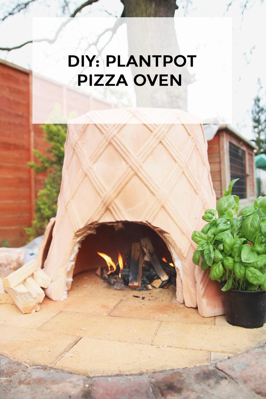 diy plantpot pizza oven april everyday