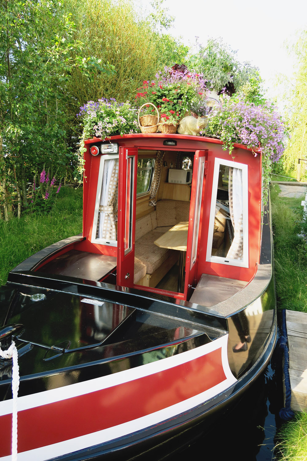 Gardeners World Live 2016 Show Gardens - The Canal Boat