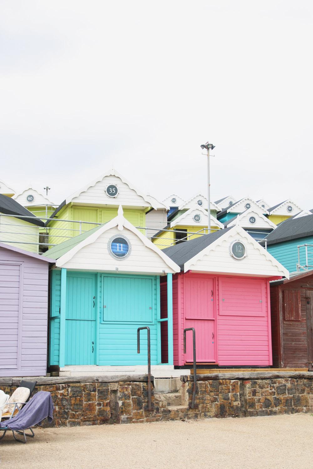 Walton-on-the-Naze Beach Huts, Essex
