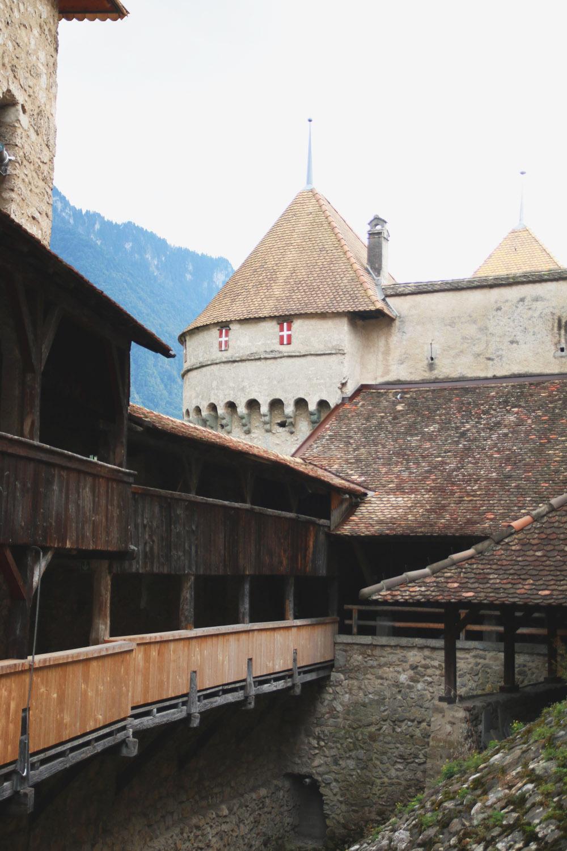 Chateau de Chillon, Lake Geneva - Switzerland