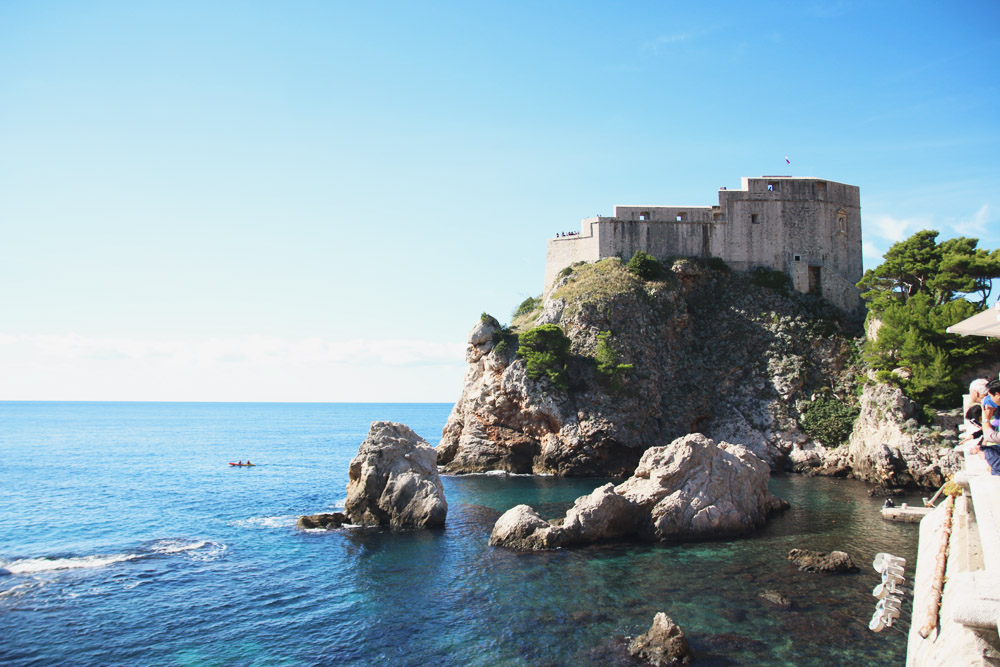 Dubrovnik Fortress, Croatia