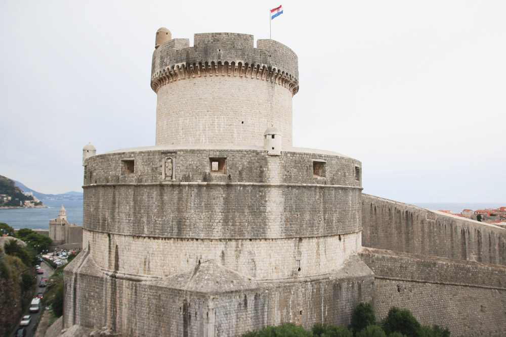 Minceta Tower Old City Dubrovnik