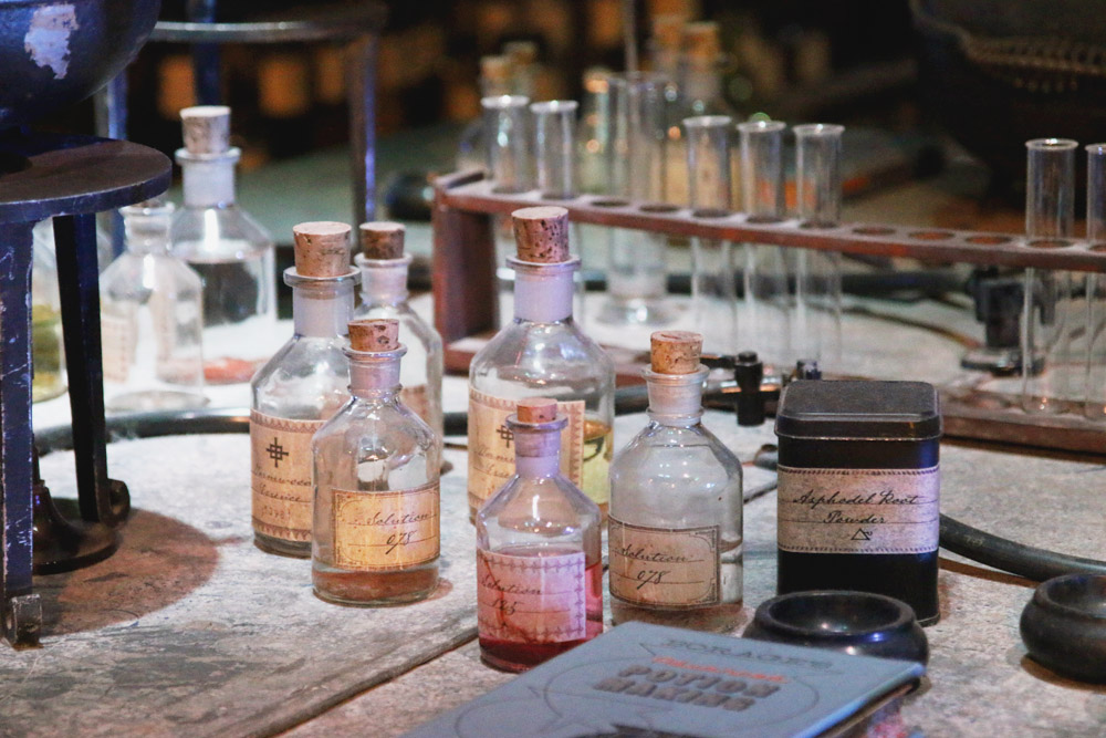 Harry Potter Warner Bros Studio Tour London Potions Classroom