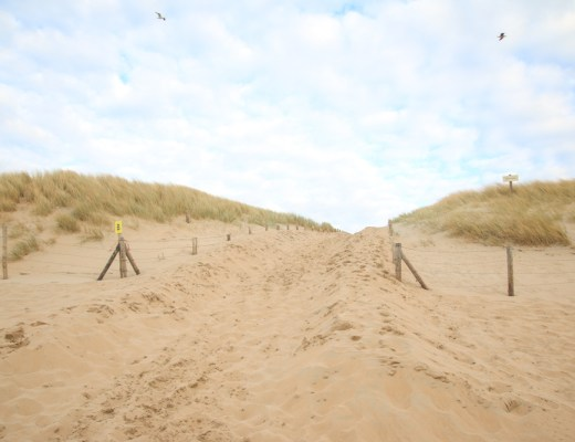 Beach at Camping de Zuidduinen, Holland, The Netherlands