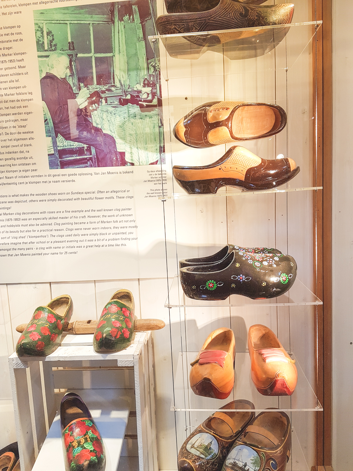 Clog Museum at Zaanse Schans, Holland, The Netherlands