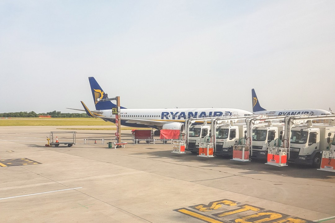 Ryanair Budget Airline Review - Ryanair Interior