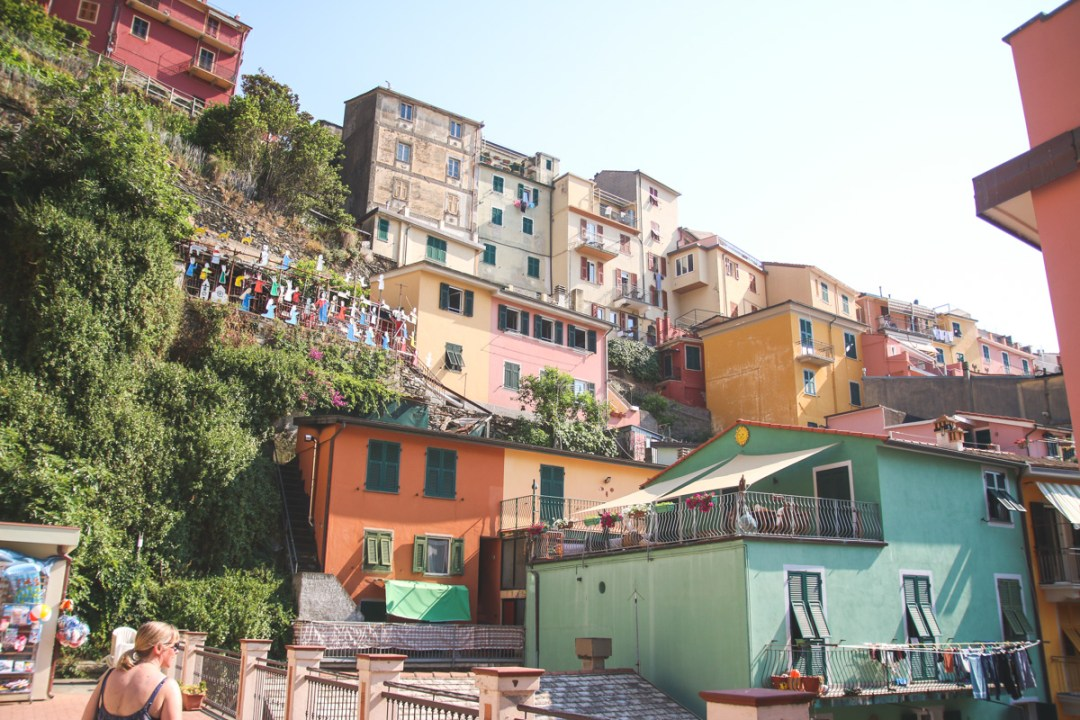 Wandering the Colourful Backstreets of Manarola in Cinque Terre, Liguria, Italy