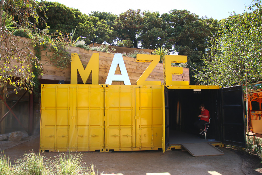 Mirror Maze at Dreamland Margate