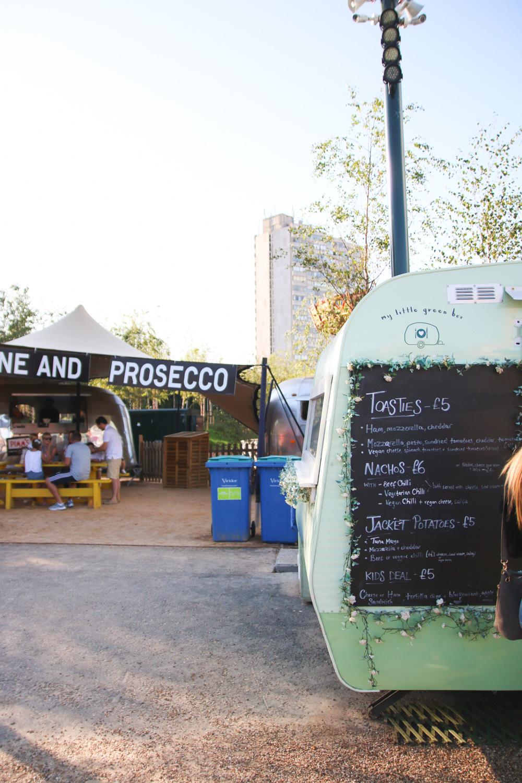 Food Area at Dreamland Margate